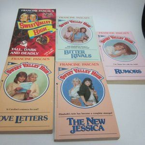 Sweet Valley High book lot